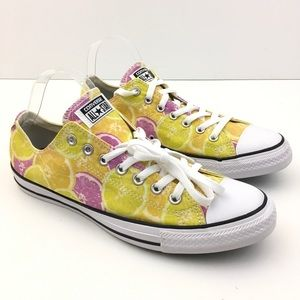 New Converse Fruit Slice Low Top Shoes 10.5 Mens